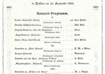 Gründungsfest 1903
