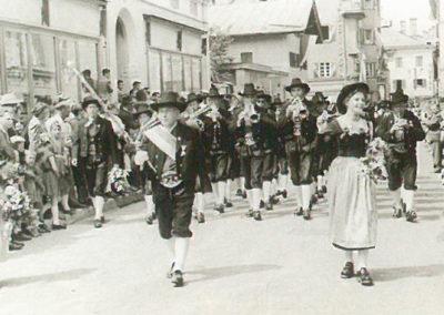 Das Jubiläumsfest 1953 in Kufstein